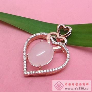 玖钻珠宝-银镶彩宝吊坠10
