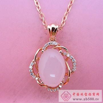 玖钻珠宝-银镶彩宝吊坠11