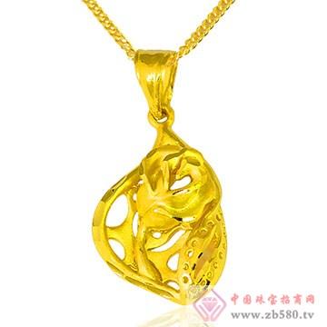 周六旺珠宝-黄金吊坠