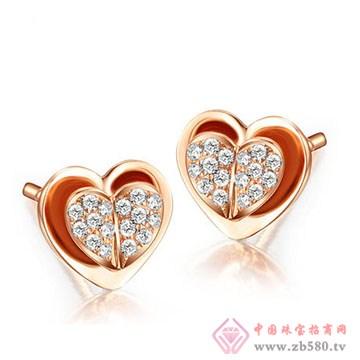 周六旺珠宝-钻石耳饰