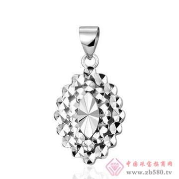 周六旺珠宝-铂金吊坠02