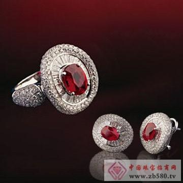 金梦福珠宝-彩宝戒指耳饰