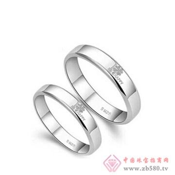 金梦福珠宝-925银对戒01