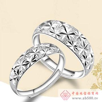 金梦福珠宝-925银对戒02