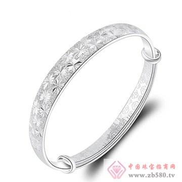 金梦福珠宝-925银手镯02