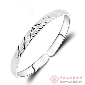 金梦福珠宝-925银手镯03