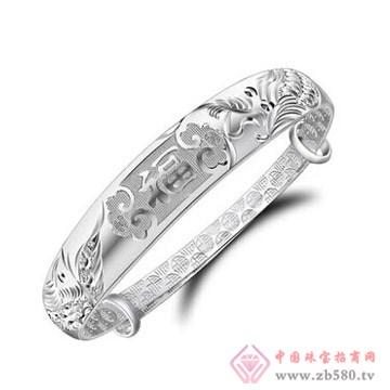 金梦福珠宝-925银手镯04