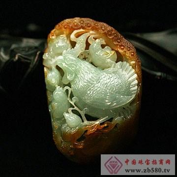 千福珠宝-翡翠挂件06