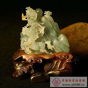 千福珠宝-翡翠摆件06