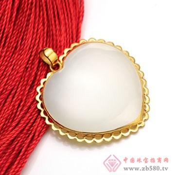 晶雅福-金镶玉挂件10