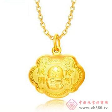 淳和婚爱珠宝城-黄金吊坠05
