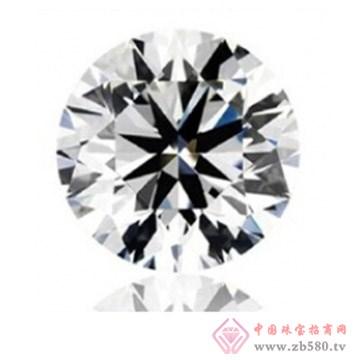 人工锆石宝石八心八箭圆形尖底