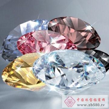 人造宝石圆形优质锆石