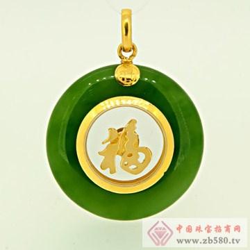梦六福珠宝金镶玉