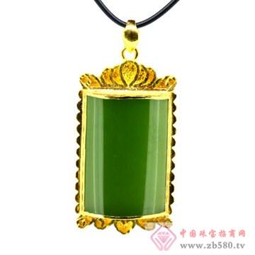 梦六福珠宝金镶玉2