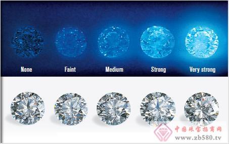 深蓝钻石切割素材图