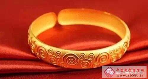 黄金手镯花纹含义大全!