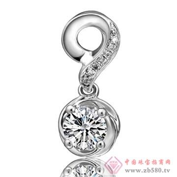 奥卡珠宝-钻石吊坠05
