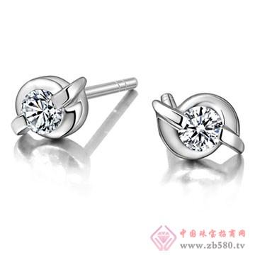 奥卡珠宝-钻石耳饰02