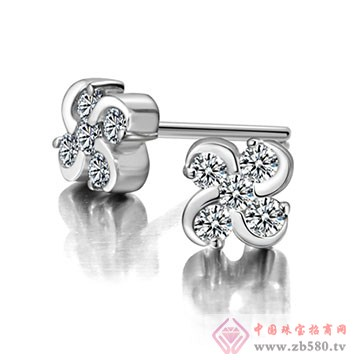 奥卡珠宝-钻石耳饰04