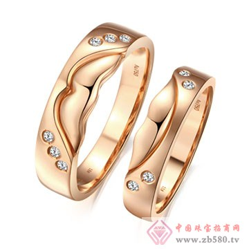 大长金珠宝-指尖上的幸福对戒