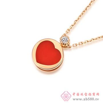 大长金珠宝-K金吊坠01