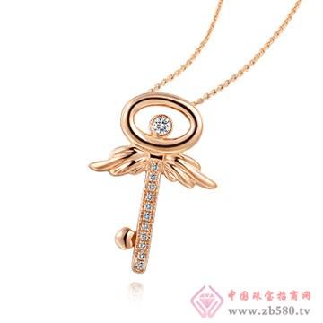 大长金珠宝-K金吊坠03
