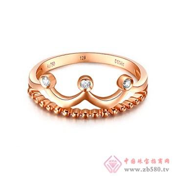 大长金珠宝-K金戒指