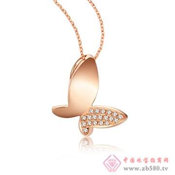 大长金珠宝-时尚精灵系列吊坠