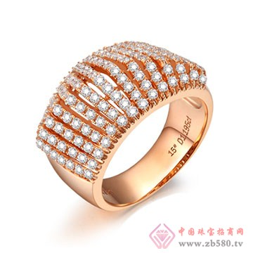 大长金珠宝-臻美系列戒指