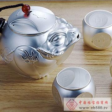 徐福金-银饰茶具02