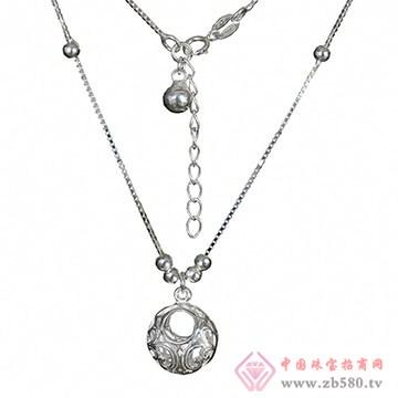 百岁坊-纯银项链01