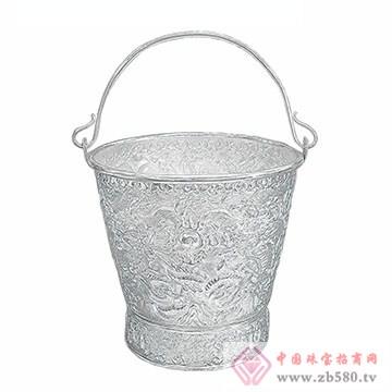 百岁坊-纯银冰桶