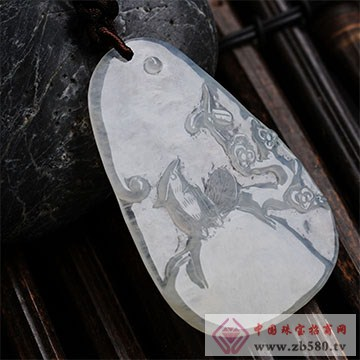昇和珠宝-翡翠挂件12