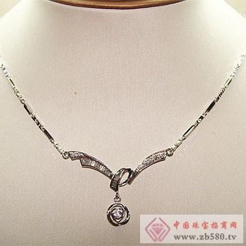 金卓缘珠宝-钻石项链06