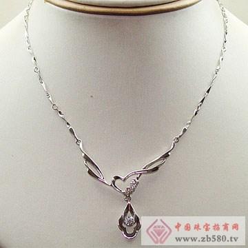 金卓缘珠宝-钻石项链07
