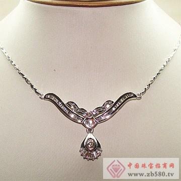 金卓缘珠宝-钻石项链08