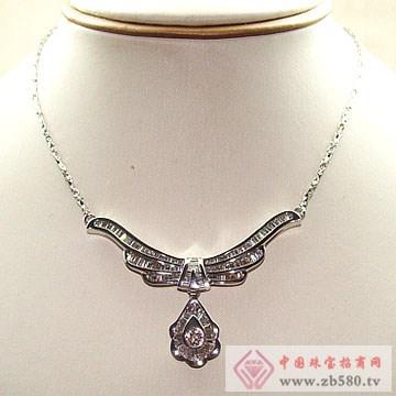 金卓缘珠宝-钻石项链11