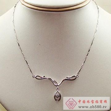 金卓缘珠宝-钻石项链12