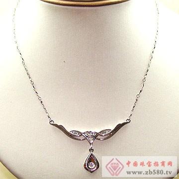金卓缘珠宝-钻石项链01