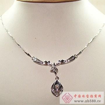 金卓缘珠宝-钻石项链02