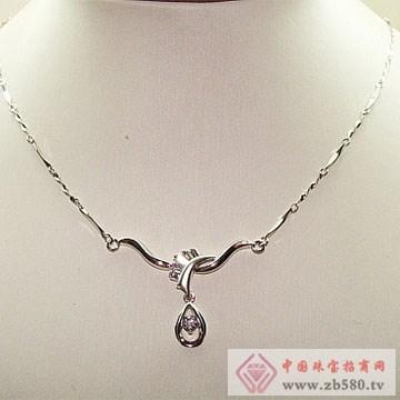 金卓缘珠宝-钻石项链04