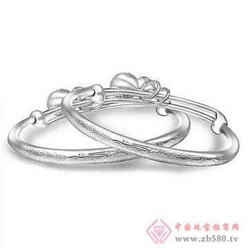 喜爱福-万足银宝宝手镯02