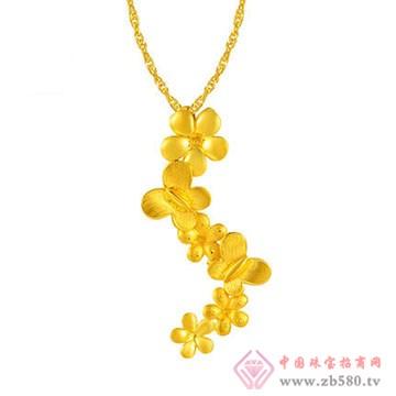 周佳福珠宝-黄金吊坠1