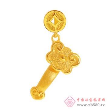 周佳福珠宝-黄金吊坠3
