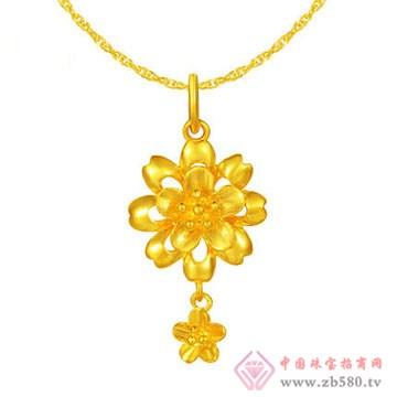 周佳福珠宝-黄金吊坠5