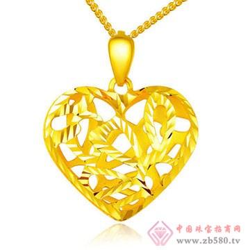 周佳福珠宝-黄金吊坠6