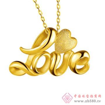周佳福珠宝-黄金吊坠9