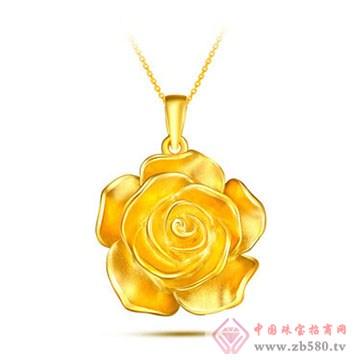 周佳福珠宝-黄金吊坠11