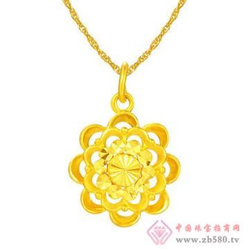 周佳福珠宝-黄金吊坠14
